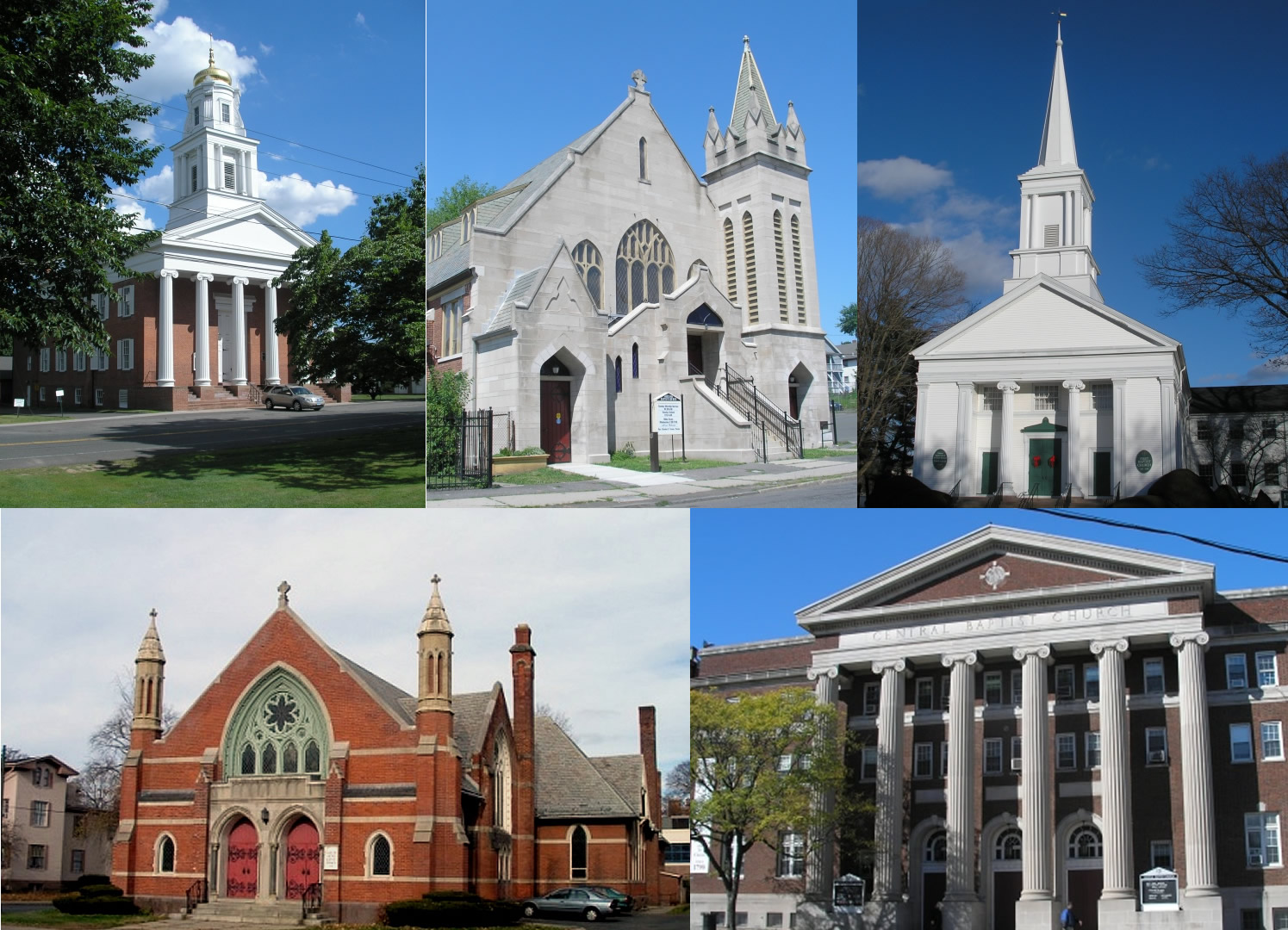 six churches